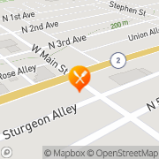 Map Feather Kelvin W Dds Paden City, United States