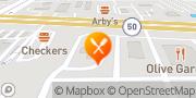 Map Burger King Orlando, United States