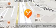 Map KFC London, Canada