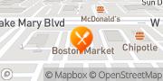 Map Boston Market Lake Mary, United States