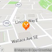 Map KFC Massillon, United States
