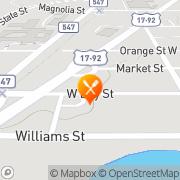 Map Cracker Barrel Davenport, United States