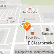 Map Burger King Brunswick, United States