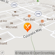 Map A & W Duncan, United States