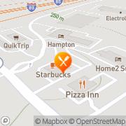 Map Denny's Restaurant Duncan, United States
