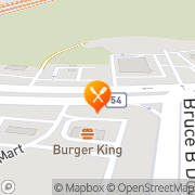 Map Burger King Wesley Chapel, United States