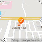 Map Burger King Gainesville, United States