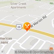 Map Applebee's Neighborhood Grill Greenville, United States