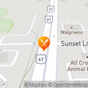 Map McDonald's Lutz, United States