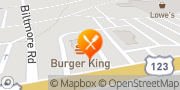 Map Burger King Easley, United States