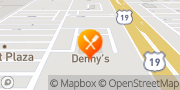 Map Denny's Bayonet Point, United States