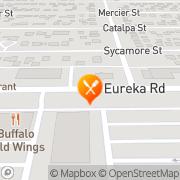 Map Buffalo Wild Wings Southgate, United States