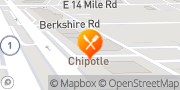 Map Chipotle Mexican Grill Royal Oak, United States
