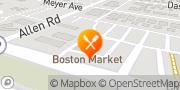 Map Boston Market Allen Park, United States