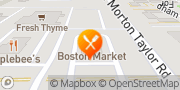 Map Boston Market Canton, United States