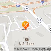 Map Hardee's Morehead, United States