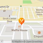 Map Burger King Bowling Green, United States
