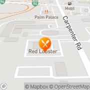 Map Red Lobster Restaurants Ann Arbor, United States