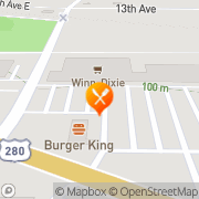 Map Kentucky Fried Chicken Cordele, United States