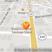Map Savage Pizza Atlanta, United States