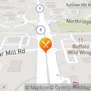 Map Buffalo Wild Wings Dunwoody, United States