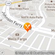 Map Back Yard Burgers Marietta, United States