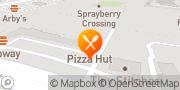 Map Pizza Hut Marietta, United States