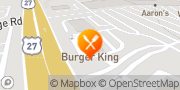 Map Burger King Cincinnati, United States