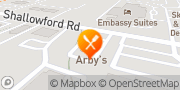 Map Arby's Chattanooga, United States