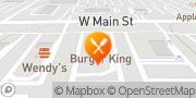 Map Burger King Kalamazoo, United States