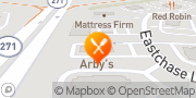 Map Arby's Montgomery, United States