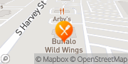 Map Buffalo Wild Wings Muskegon, United States