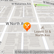 Map Cold Comfort Cafe & Deli Chicago, United States