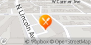 Map Pizza Hut Chicago, United States