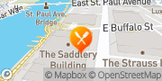 Map Blue Bat Kitchen & Tequilaria Milwaukee, United States