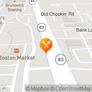 Map Boston Market Buffalo Grove, United States