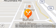 Map Buffalo Wild Wings South Elgin, United States