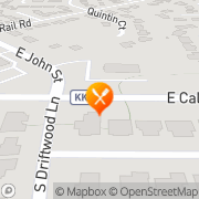 Map A & W Appleton, United States