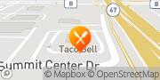Map Taco Bell Oconomowoc, United States