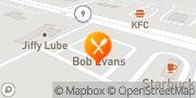 Map Bob Evans Pekin, United States