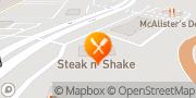 Map Steak 'n Shake Springfield, United States