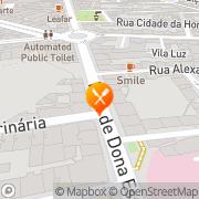 Map Hare Krishna Lisbon, Portugal