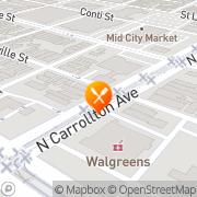 Map Venezia New Orleans, United States