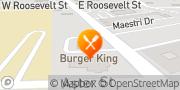 Map Burger King Baton Rouge, United States