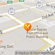 Map Deb's Ice Cream & Deli Cedar Rapids, United States