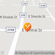 Map KFC - Closed Warren, United States