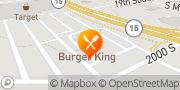 Map Burger King New Ulm, United States