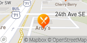 Map Arby's Willmar, United States