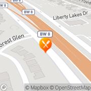 Map Denny's Restaurant Houston, United States