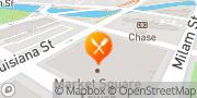 Map Canary Cafe Houston, United States